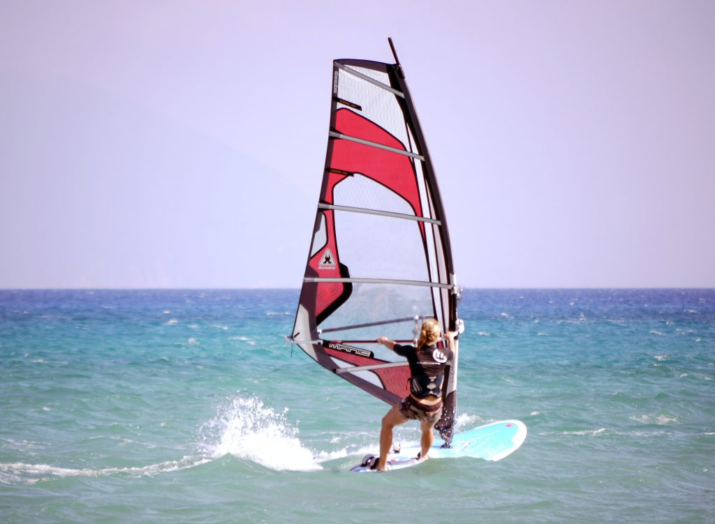 Windsurf in the Mar Menor